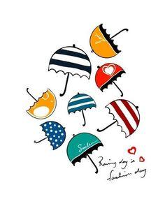 parapluies umbrellas repinned by the-glitter-side.blogspot.com
