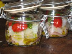 Lella gourmand: Vasocottura di zuppa di pesce al pesto
