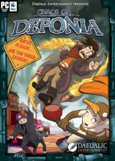 Chaos on Deponia Your #1 Source for Video Games, Consoles & Accessories! Multicitygames.com