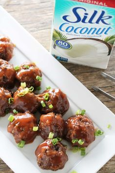 Meatless Monday Night Football is brought to you by Silk. This post is sponsored by Silk, but all opinions expressed are my own. Vegan meatballs, they are a thing! These particular meatballs are made using a combination of mushrooms, quinoa, and black beans, which means you are getting a ton of protein without any of...