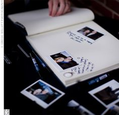 Great idea for a guest book!