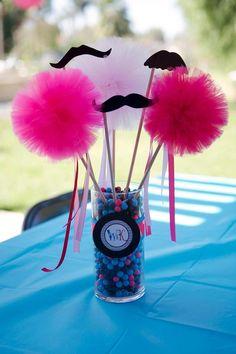 Tutu and Stache Bash with Really Cute Ideas via Kara's Party Ideas | KarasPartyIdeas.com #StacheBash
