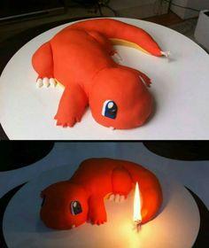 Charmander Cake! @briannamanzo13 this is bae!!