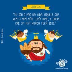 Mensagens e Frases Ilustradas com Nosso Senhor Jesus Cristo | Coisa de Santo