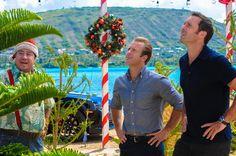Steve pressures Danny to steal a Christmas tree. Hmmmm....Huh?