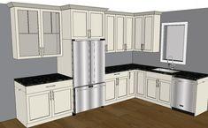 pantry cabinets with refrigerator | Technical Tidbit: Save My Fridge Storage
