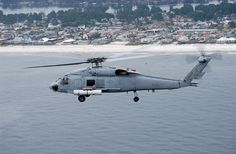 Airborne Laser Mine Detection System (ALMDS) being tested by Northrop Grumman on Blach Hawk testbed.