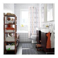 IKEA - SIKUDDEN, シャワーカーテン,