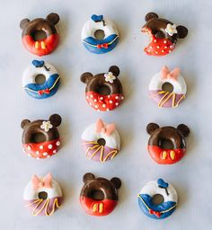 This Disney donuts are too adorable.