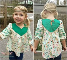 Wanderer Tunic Pattern 2T-14yrs from Striped Swallow Designs