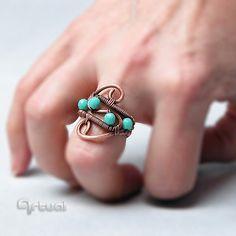 Envueltos de alambre de cobre de anillo ajustable por Artual
