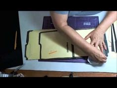 Making a File Folder Book Part 2 - YouTube
