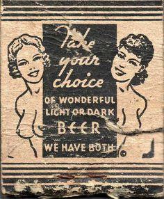 #light or #dark #beer
