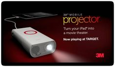 SO cool! 3m projector. Enter to win one from @Stacy Risenmay {Not Just a Housewife}