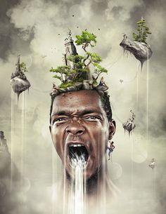 Nature Inspired Photo Manipulation for Inspiration   CoalesceIdeas
