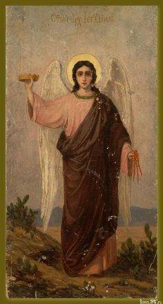 Gothic Architecture, Orthodox Icons, Angel Art, Cherub, Impressionist, Christianity, Original Artwork, Fine Art, Illustration