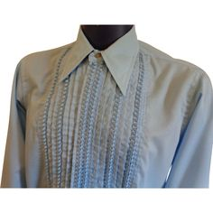 1000 images about vintage menswear on pinterest western for Powder blue tuxedo shirt