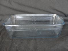 """Vintage Fire King Sapphire Blue Philbe Loaf Pan 9 3/4"""" x 5"""""""