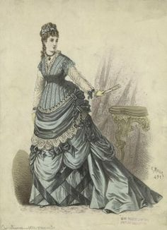 1870 I have never wanted to replicate a fashion plate.... until now! -L