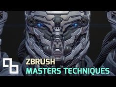 ▶ Sci-Fi Character Design In ZBrush - Panels - YouTube