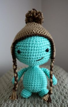 Cute turtle with his hat :) (free pattern)
