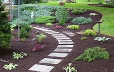 front walkway landscaping | Michigan Landscape Pictures by 4 Seasons Outdoors Landscaping Company
