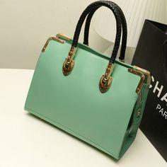 31a31138e33 2013 new women fashion Simple wild Candy colored handbags female Braided  handle Shoulder Messenger Bag xc048