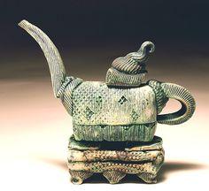 Green Teapot- Lana Wilson