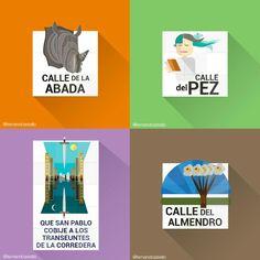 Restyling #madrid street plates #ui #design #graphicdesign