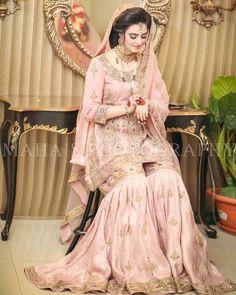 Beautiful Bridal Dresses, Asian Bridal Dresses, Pakistani Wedding Dresses, Pakistani Outfits, Bridal Wedding Dresses, Bridesmaid Dresses, Nikkah Dress, Desi Wedding, Wedding Outfits