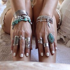 ☆Jewelry accessories bohemian boho