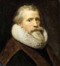 Zelfportret, Paulus Moreelse, ca. 1623. Vermoedelijk No. X.41.