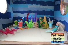 * Ocean Box Diorama