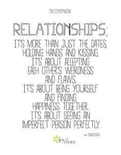 Relationships.. - healthandfitnessnewswire.com