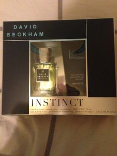 David Beckham Instinct set