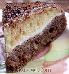 Торт-сметанник День и ночь