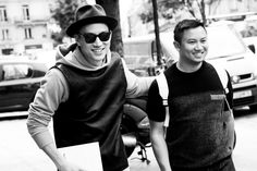 Tommy Ton and Eugene Tong @ Carven | FW Street Style