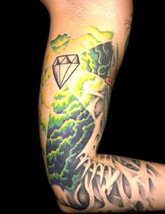 awesome Tattoo Trends - the-full-diamond-tattoo-designs-and-meaning-for-girl-on-thigh Diamond Tattoo Meaning, Small Diamond Tattoo, Diamond Tattoo Designs, Diamond Tattoos, Elbow Tattoos, Finger Tattoos, Hand Tattoos, Girl Tattoos, Tattoos For Women