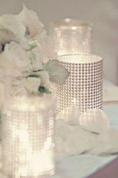 86 Best Rhinestone Ribbon Ideas Images Wedding Ideas Wedding Tables Wedding Centerpieces