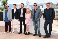 "Russell Crowe Photos - (L-R) Producer Joel Silver, actors Matt Bomer Ryan Gosling, Angourie Rice, Russell Crowe and director Shane Black attend ""The Nice Guys"" photocall during the 69th annual Cannes Film Festival at the Palais des Festivals on May 15, 2016 in Cannes, France. - 'The Nice Guys' Photocall - The 69th Annual Cannes Film Festival"