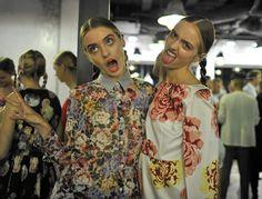 American twin model sisters, Kelsey and Baylee Soles.