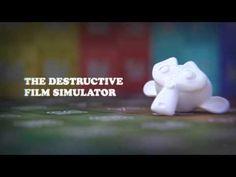 Destructive Film Simulator - Composite Node Group for Blender - YouTube