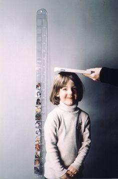 Toise pêle-mêle graduée et cadre photo Pa Design