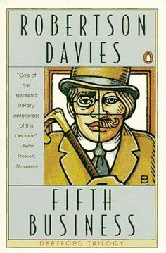 Now rereading Fifth Business by Robertson Davies. Enjoyable in high school, even better this time.