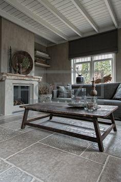 Sober landelijke stijl - ideeen voor een nieuwe woonkamer. More