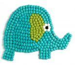 100% wool felt elefant rug by én gry & sif