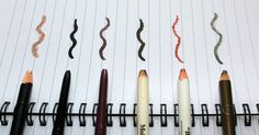 paperplanepond : Eye pencils, my first love.