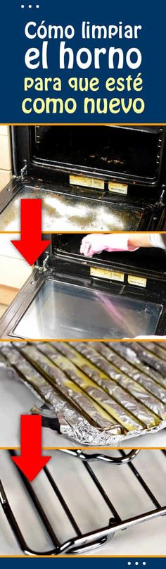 Cómo limpiar el horno para que esté como nuevo