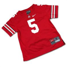 Your little fan will love showing off his or her Buckeye pride with our authentic OSU jersey made by Nike! Ohio State Baby, Toddler Jerseys, How To Show Love, Buckeyes, Baby & Toddler Clothing, Infant, Pride, Halloween, Clothes