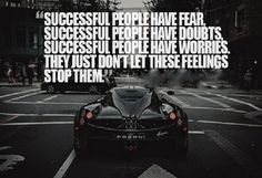 Successful Quote #Fear, #People